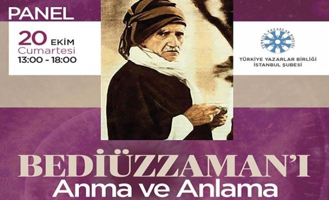 TYB İstanbul'da Bediüzzaman paneli