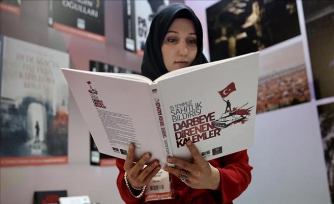 15 Temmuz romanları TÜYAP'ta okuyucuyla buluştu
