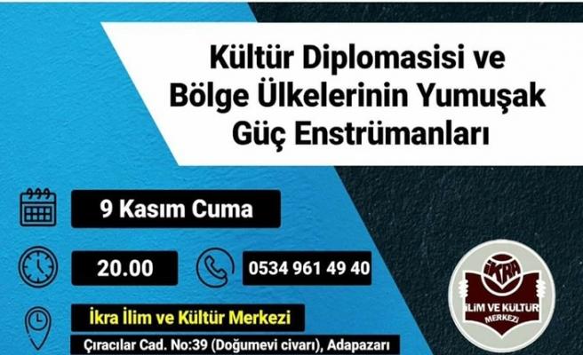 Ahmet Yeşil ile ''Kültür Diplomasisi ve Bölge Ülkelerinin Yumuşak Güç Enstrümanları'' programı