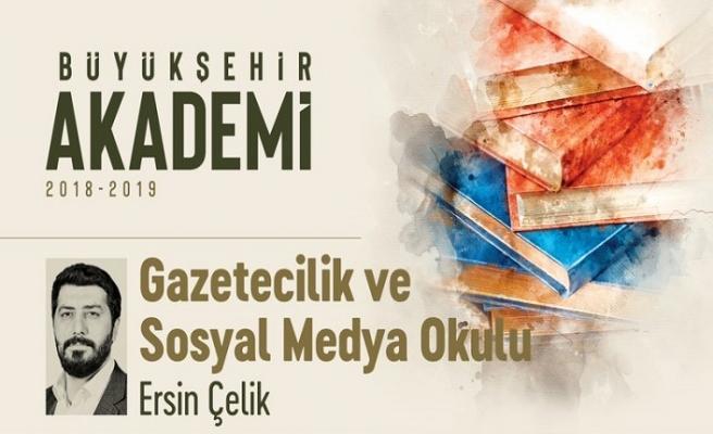 Ersin Çelik ile Gazetecilik ve Sosyal Medya Okulu