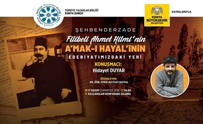Filibeli Ahmet Hilmi'nin A'mak- Hayal'inin Edebiyatımızdaki Yeri