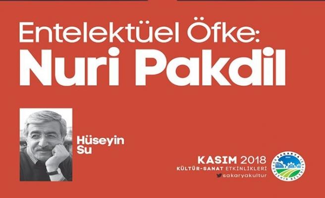 """Hüsayin Su ile ''Entelektüel Öfke: Nuri Pakdil"""" söyleşi ve imza günü"""