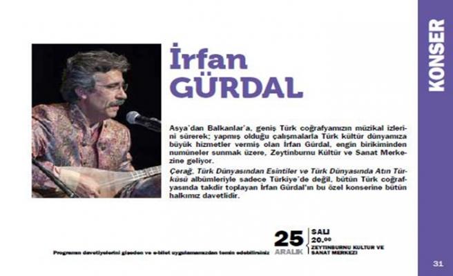 İrfan Gürdal Zeytinburnu Kültür ve Sanat Merkezi'nde