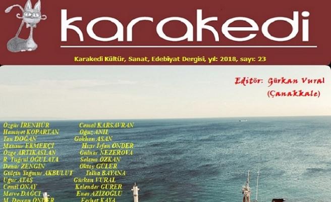 Karakedi dergisinin 23. sayısı yayınlandı