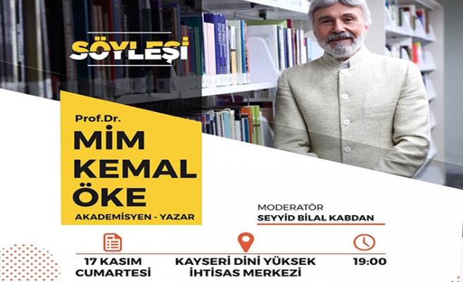 Prof. Dr. Mim Kemal Öke söyleşisi