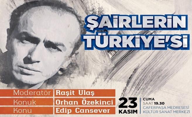 ''Şairlerin Türkiye'si'' programı başlıyor