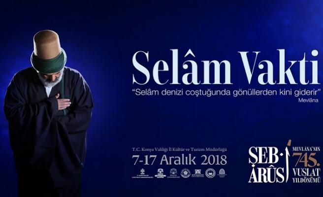 2018 Şeb-i Arus törenleri yaklaşıyor