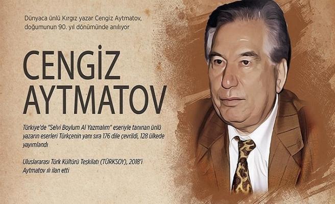 Dünyaca ünlü yazar Cengiz Aytmatov anılıyor