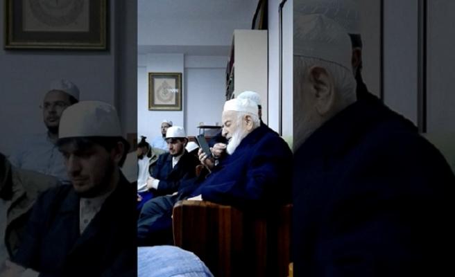 Hamdi Arslan: M. Emin Saraç Hocanın tek gayesi Allah'ın rızasını elde etmektir