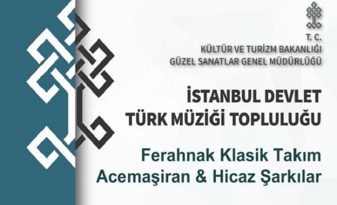İstanbul Devlet Türk Topluluğundan konser