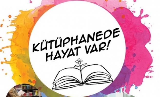 Kütüphanede Hayat Var projesi