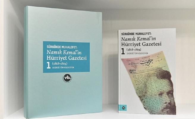 Namık Kemal'in 'Hürriyet Gazetesi' kitaplaştı