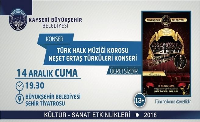 ''Neşet Ertaş Türküleri'' Konseri