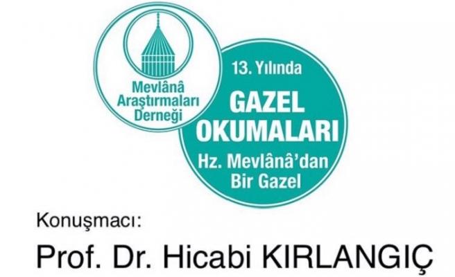 Prof. Dr. Hicabi Kırlangıç ile Gazel Okumaları