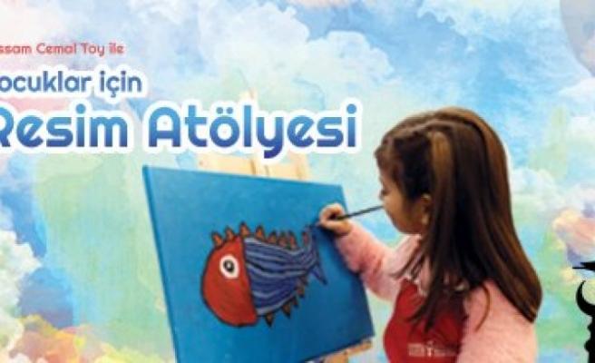 Ressam Cemal Toy ile Çocuklar için Resim Atölyesi kayıtları başladı