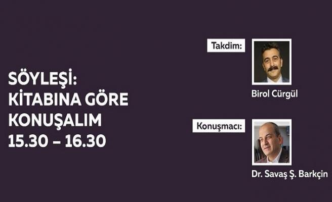 Savaş Barkçin 10. İstanbul Edebiyat Festivalinde