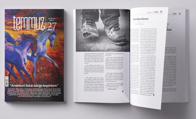Temmuz dergisinin 27. sayısı çıktı