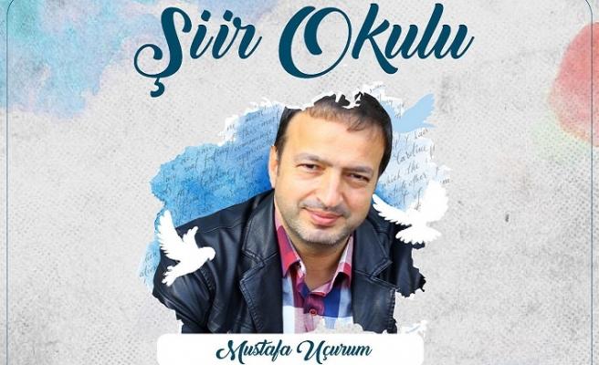 """TÜGVA """"Şiir Okulu"""" söyleşilerinin konuğu şair ve yazar Mustafa Uçurum"""