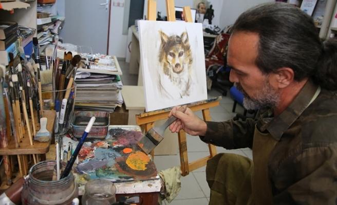 Türk kültürünü sanatıyla dünyaya anlatıyor