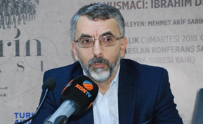 """Konya TYB'de """"Türklerin Mirası"""" belgeseli konuşuldu"""