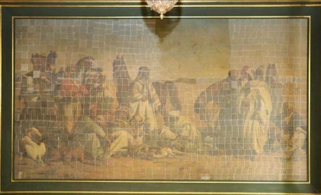 'Çölde Av' tablosu Resim Müzesi'ne taşınacak