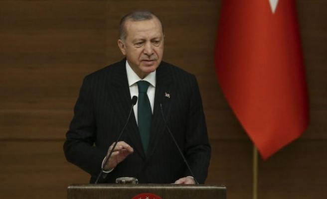 Cumhurbaşkanı Erdoğan: 16 yılda kültür sanat alanında yeteri kadar mesafe alamadık