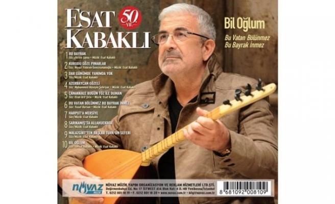 Esat Kabaklı, Bâbıâli'de 50. sanat yılını kutlayacak