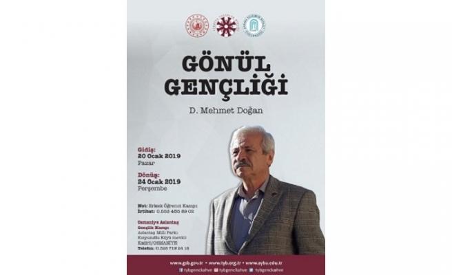 """""""Gönül Gençliği/D. Mehmet Doğan"""" Erkek Öğrenci Kampına kayıtlar başladı"""