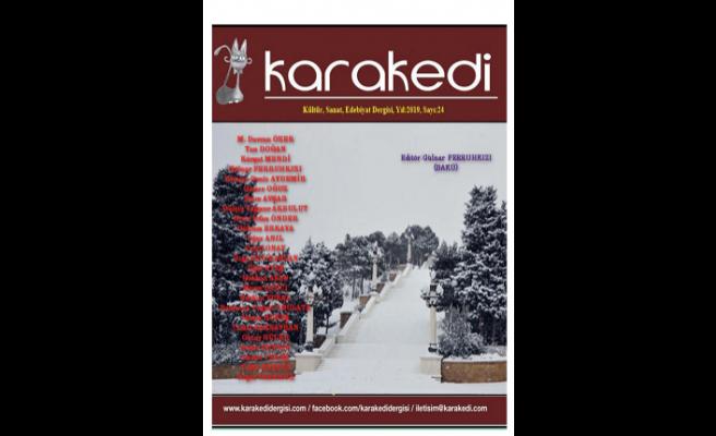 Karakedi dergisinin 24. sayısı yayınlandı