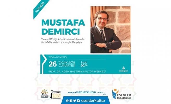 Konser: Mustafa Demirci