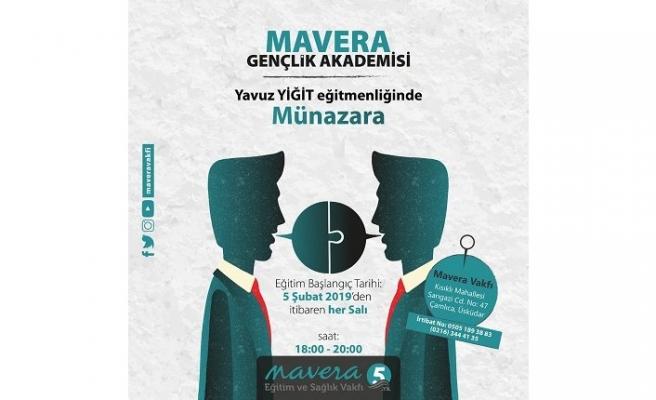 Mavera Gençlik Akademisi Münazara eğitimlerine başlıyor