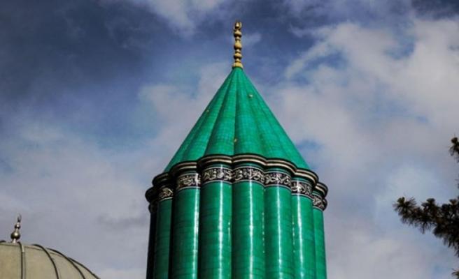 Mevlana Müzesi'nin kubbesi yenileniyor
