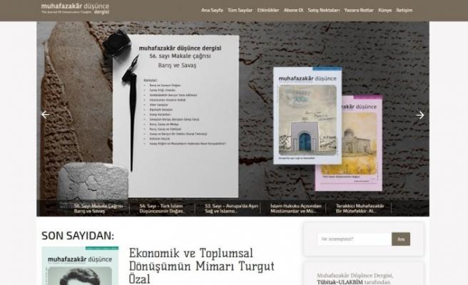 Muhafazakar Düşünce dergisi tüm sayılarını online paylaşıma açtı