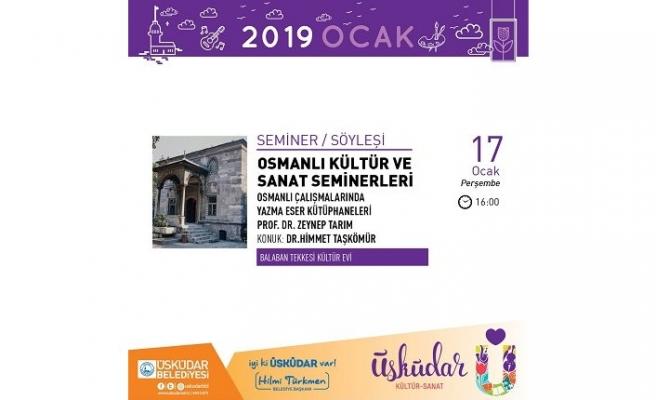 Osmanlı Kültür ve Sanat Seminerleri