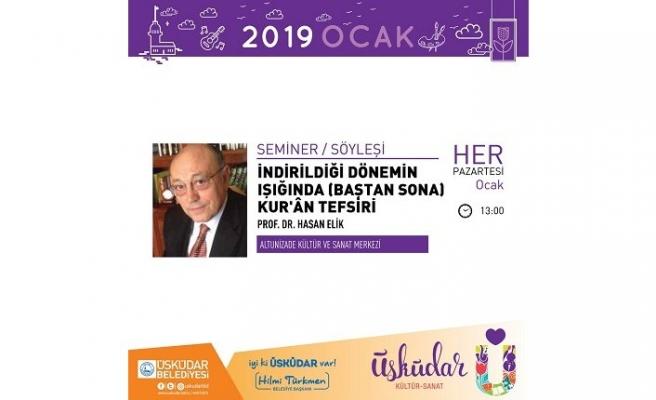 Prof. Dr. Hasan Elik ile tefsir dersleri