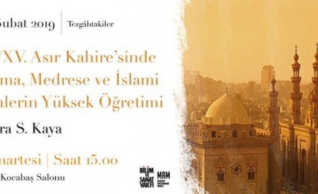 Tez Sunumu: IX./XV. Asır Kahire'sinde Ulema, Medrese ve İslami İlimlerin Yüksek Öğretimi
