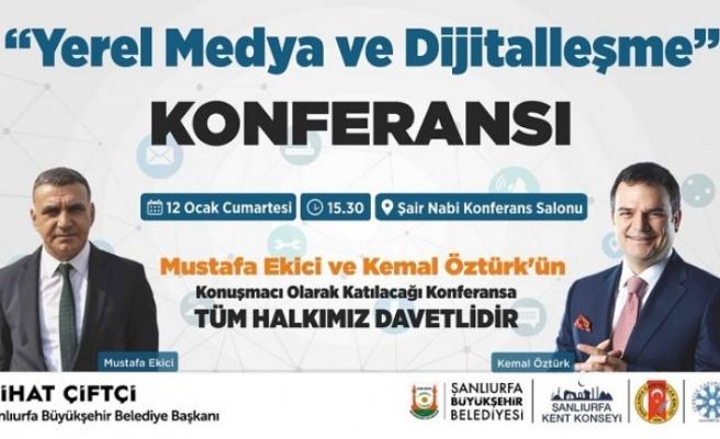 """""""Yerel Medya ve  Dijitalleşme"""" konferansı"""