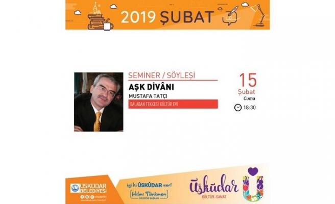 Mustafa Tatçı ile Aşk Divânı devam ediyor