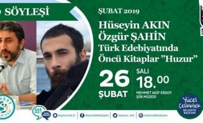 """Söyleşi: """"Türk Edebiyatında Öncü Kitaplar: Huzur"""""""