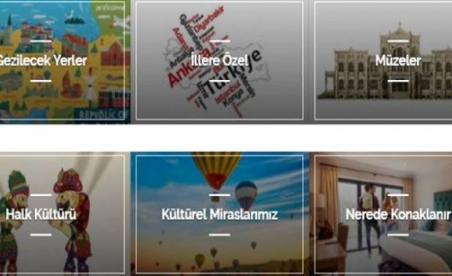 Türkiye Kültür Portalı'na 4,5 milyonu aşkın ziyaret