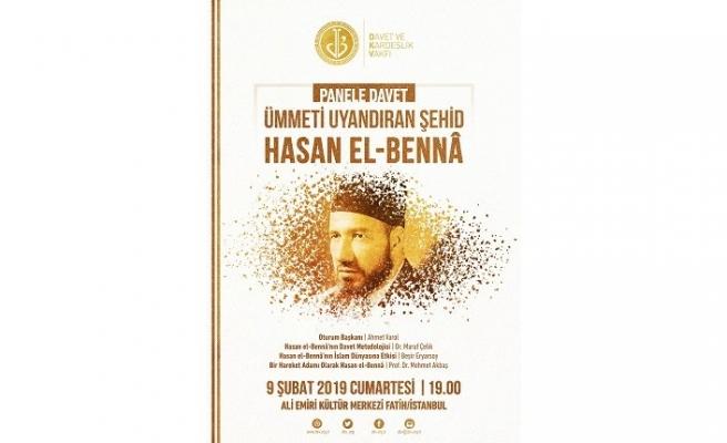 """""""Ümmeti Uyandıran Şehid, Hasan el-Bennâ"""" paneli"""