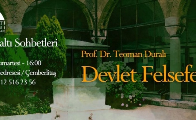 Prof. Dr. Teoman Duralı Kubbealtı Sohbetlerinde