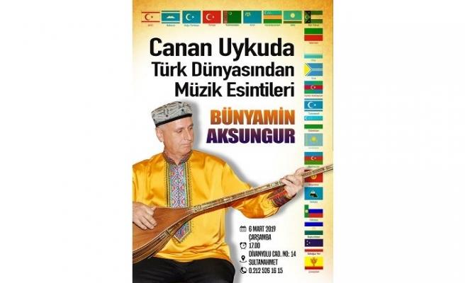Türk Edebiyatı Vakfı Bünyamin Aksungur'u konuk ediyor