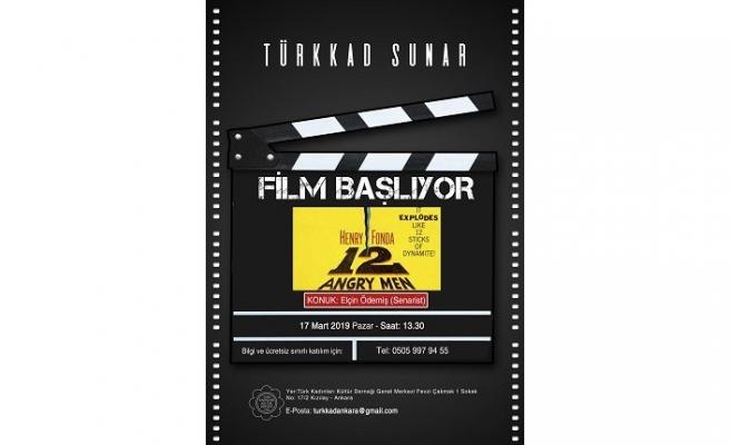 Türkkad film okumaları devam ediyor