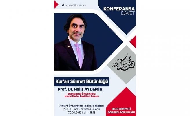 Konferans: Kur'an Sünnet Bütünlüğü