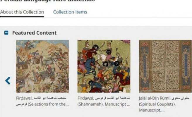 40'ı kitap 150 civarında nadir Farsça eser dijital ortama taşındı
