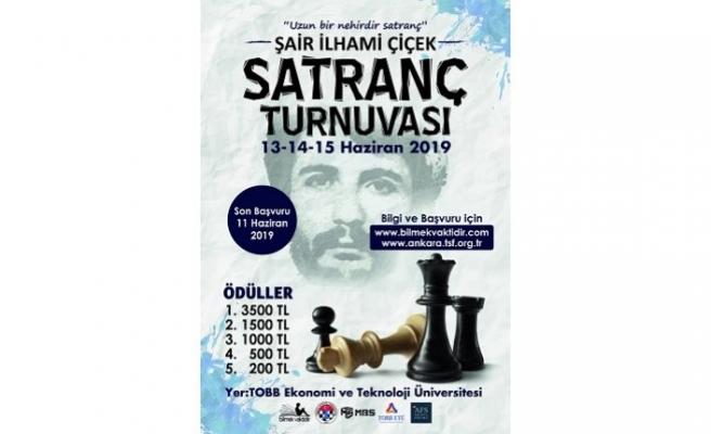 İlhami Çiçek Satranç Turnuvası ve Anma Paneli