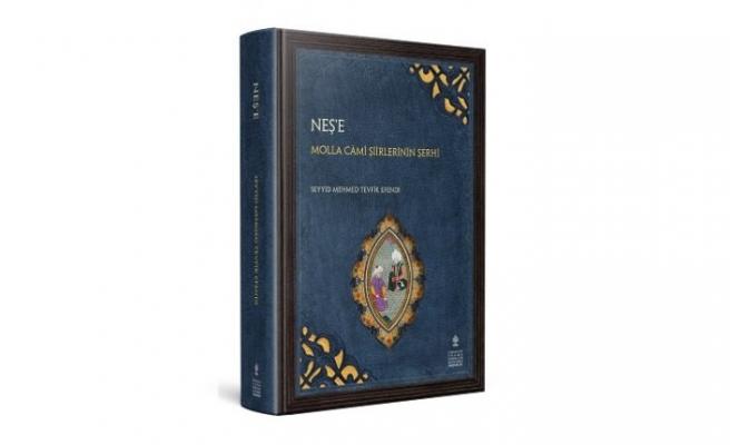 Molla Câmi'nin şiirlerinin şerhi yayınlandı