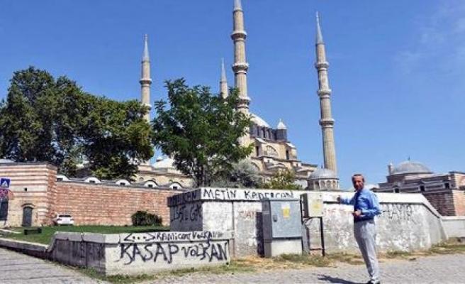 Selimiye Camii'nde görüntü kirliliği