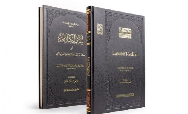 Yeni baskı: Lübâbü'l-kelâm